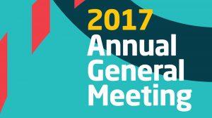 AGM 2017 & Social Evening